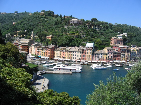 A view from Portofino's hills